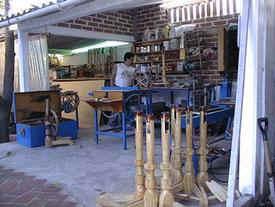 spinning wheel workshop