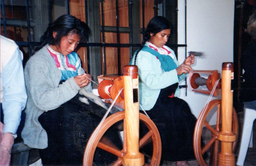 Zapotec women in San Cristobal